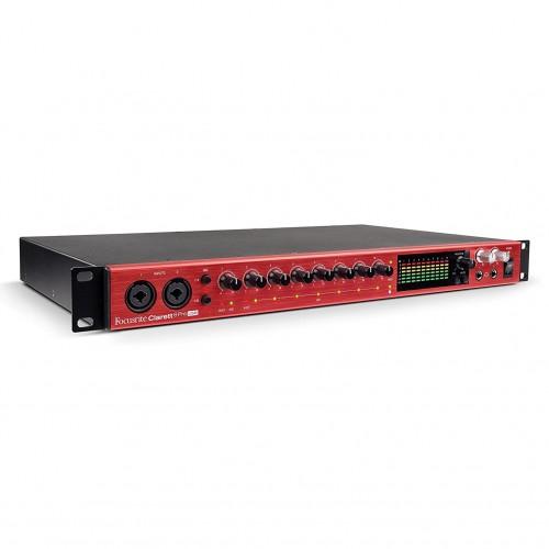 Focusrite Clarett 8Pre USB 18-In, 20-Out Audio Interface