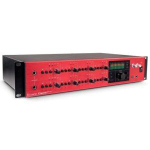 Focusrite Clarett 8PreX 26-In, 28-Out Thunderbolt Audio Interface