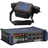 Zoom F8N Multitrack Field Recorder With Zoom PCF-8n Protective Carry Bag