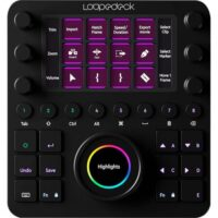 Loupedeck CT Custom Editing Console for Photo Video Music and Design