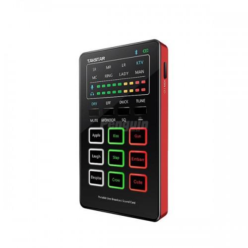 Takstar MX1 Mini Portable Webcast Sound Card
