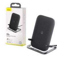 Baseus BS-W502 Rib Horizontal and Vertical Mobile Holder with Wireless Charging
