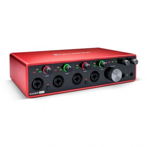 Focusrite Scarlett 18i8 3rd Gen USB Audio Interface Focusrite Scarlett 18i8 3rd Gen USB Audio Interface Focusrite Scarlett 18i8 3rd Gen USB Audio Interface