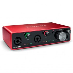 Focusrite Scarlett 4i4 3rd Gen USB Recording Interface