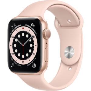 Apple Watch Series 6 (M00E3LL/A) 44mm Sport Band (GOLD)