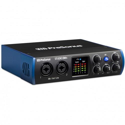 PreSonus Studio 24c 2x2 192 kHz PC Audio Interface
