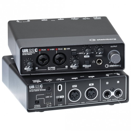 Steinberg UR22C USB Audio Interface for PC and Laptops