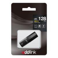 Flash Drive USB Addlink 128GB Drive U55-Black(AD128GBU55B3)