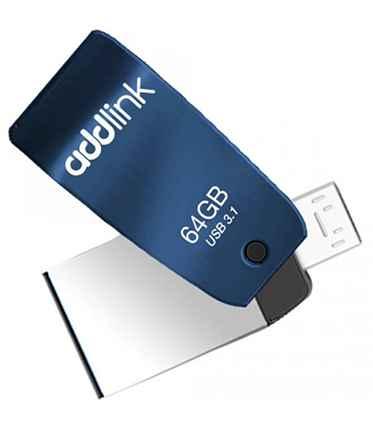 64GB OTG 2 in 1 (Micro USB+USB3.1) Blue